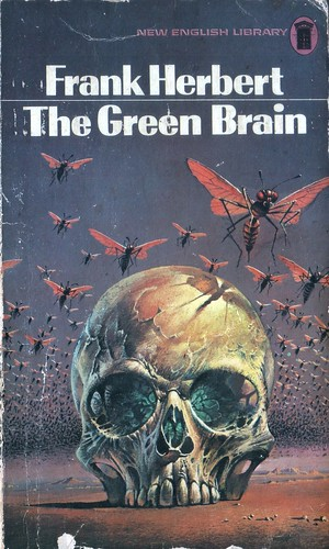 The Green Brain by Frank Herbert. NEL 1973. Cover artist Bruce Pennington
