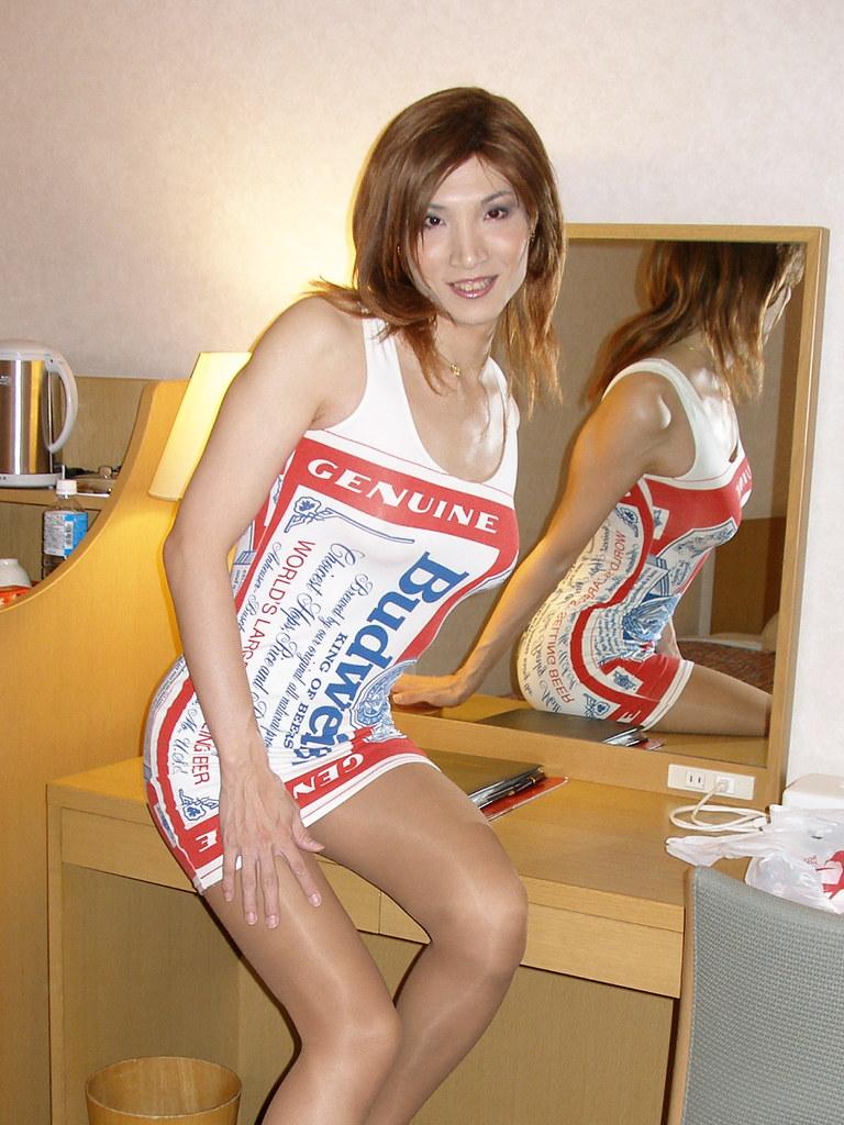 kyouko matsusita Budweiser minidress_56