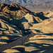 Zabriskie Point at Sunrise Death Valley by mikebaird