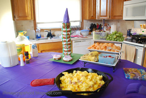 Rapunzel Brunch Spread