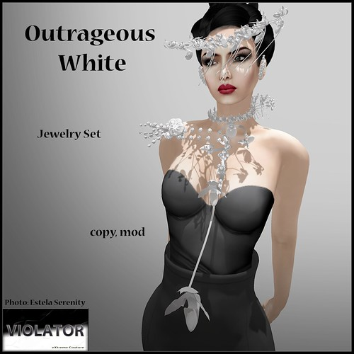 Violator-Outrageous White (Available at Relay for Life Event)