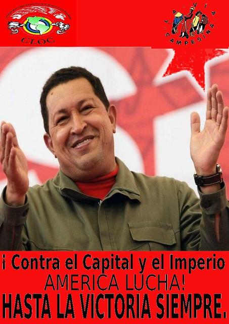 Hasta la victoria siempre, Comandante Chavez!