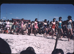 Circa 1959.  Port Parham, South Australia. New Years Day Carnival