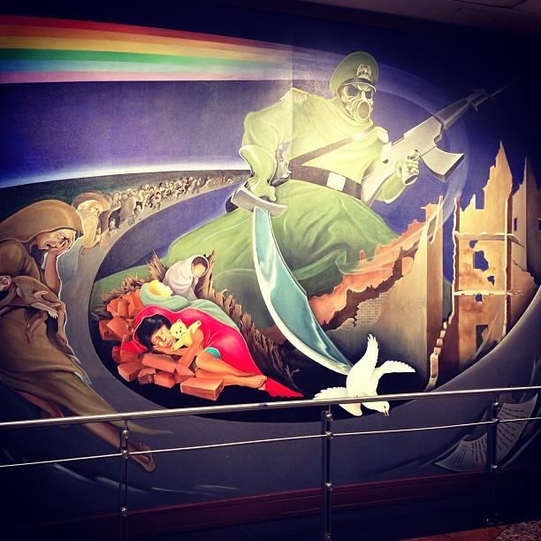 Denver airport conspiracy theory murals for Denver mural conspiracy
