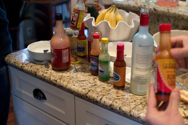 hot sauce testing