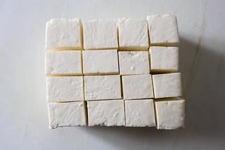 cubes of paneer