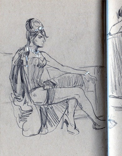Dr. Sketchy - Oscars Night