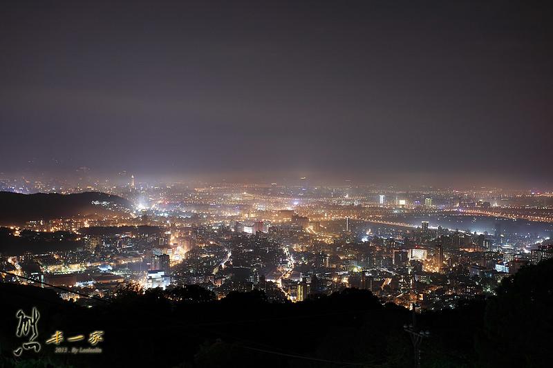 陽明山夜景|文化大學後山夜景