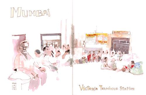 Victoria Station Mumbai