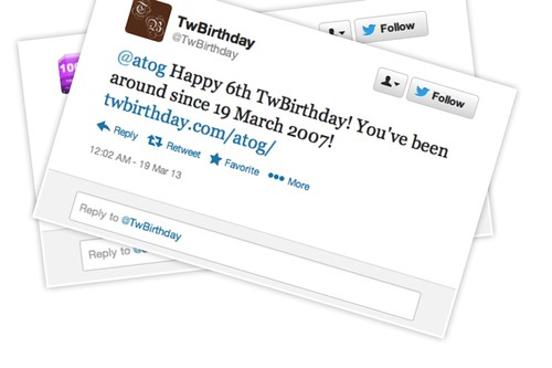 6 jaar twitter