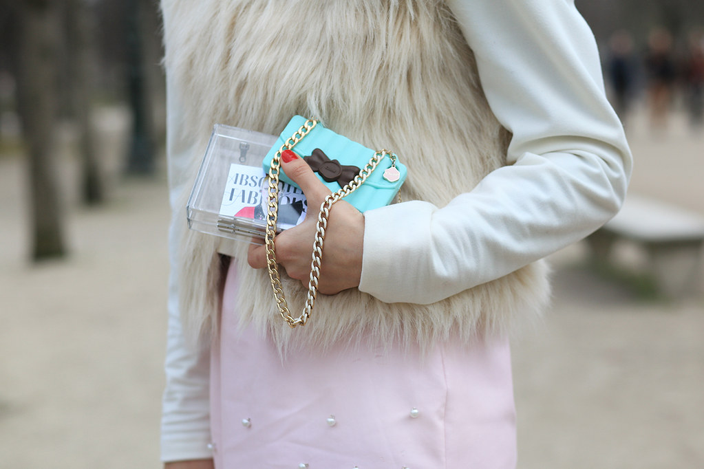 Paris Fashion Week FW2013 street style with diana enciu and alina tanasa