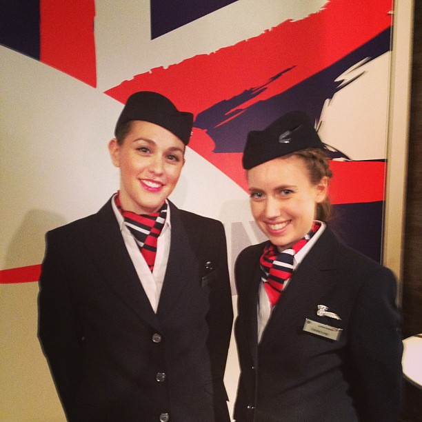 British pride on display at the NYC #bigbritishinvite event! @britishairways