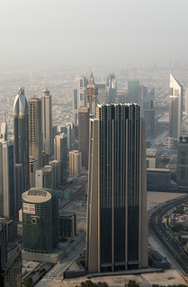 The Index Building et autres buildings le long de la Sheikh Zayed Road