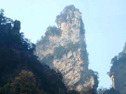 Hunan13-Parc-Telepherique-Vers Wulingyuan (15)