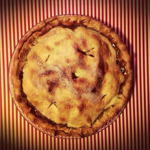 The apple pie I've been craving... #homemade #foodie #PIE