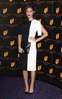 Anna Shaffer Monochrome Trend Celebrity Style Women's Fashion