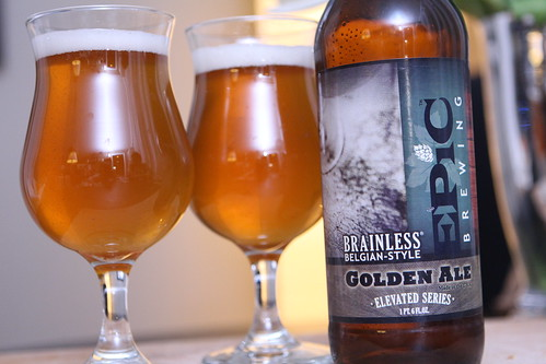 Epic Brewing Brainless Belgian-Style Golden Ale