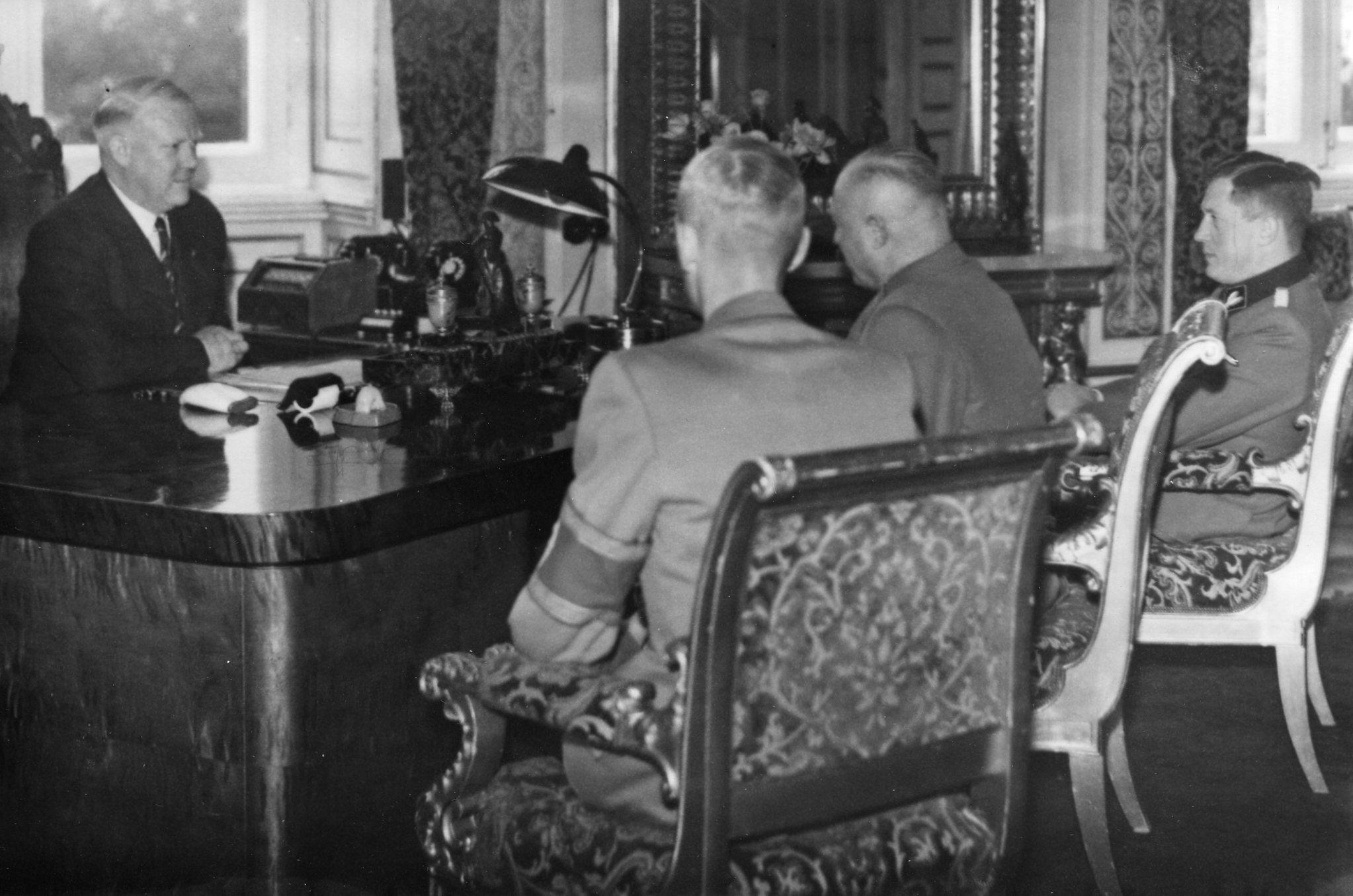 Ministerialrat Stephan, Oslo, sommer 1943.