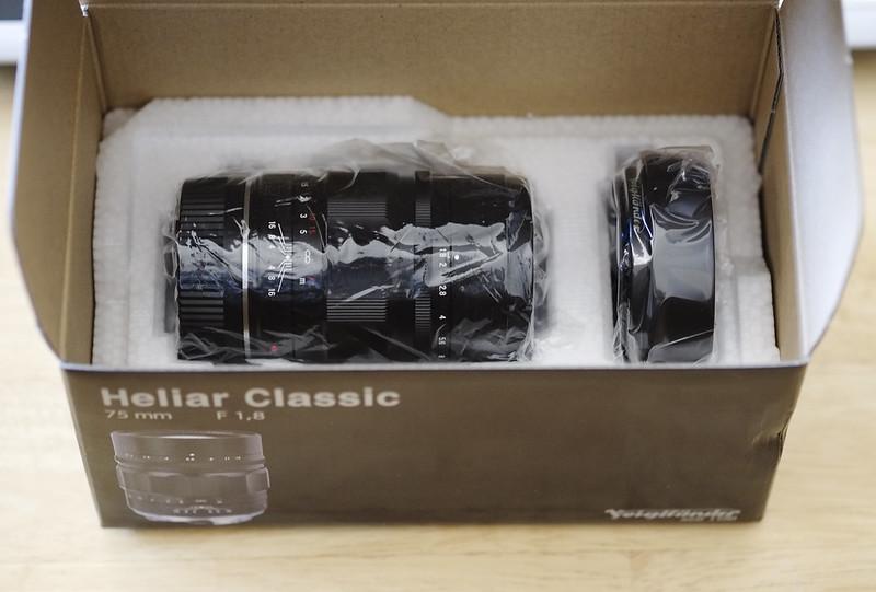 Voigtlander 75mm 1.8 Heliar