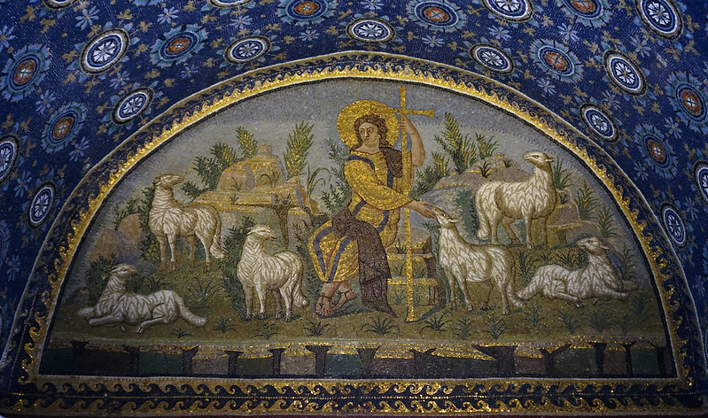 Mosaic from The Mausoleum of Galla Placidia, 425 C.E., Ravenna, Italy