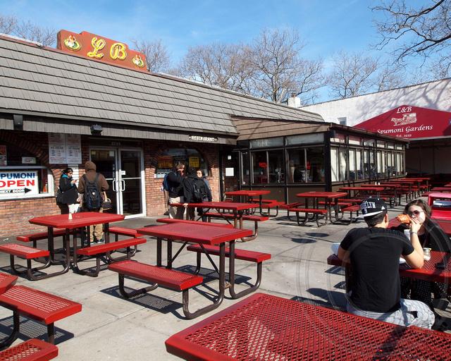 l b spumoni gardens pizzeria restaurant bensonhurst brooklyn new york city flickr photo