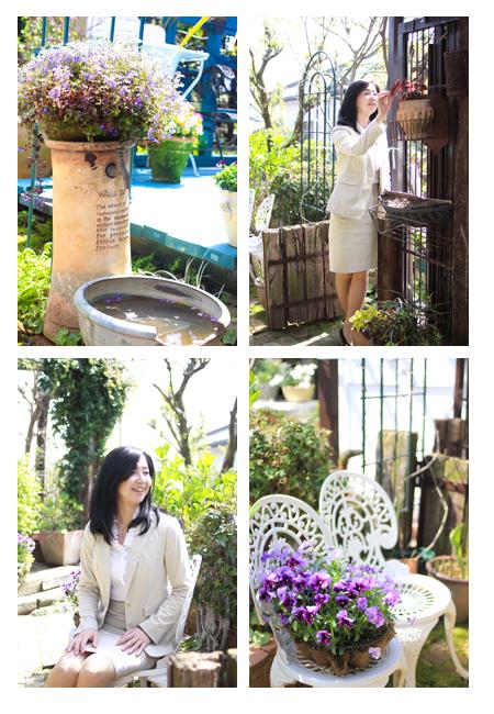 プロフィール写真,ポートレート写真,ホームページ,チラシ用,出張撮影,瀬戸市カフェ ローザーアーケード(Lowther Arcade)