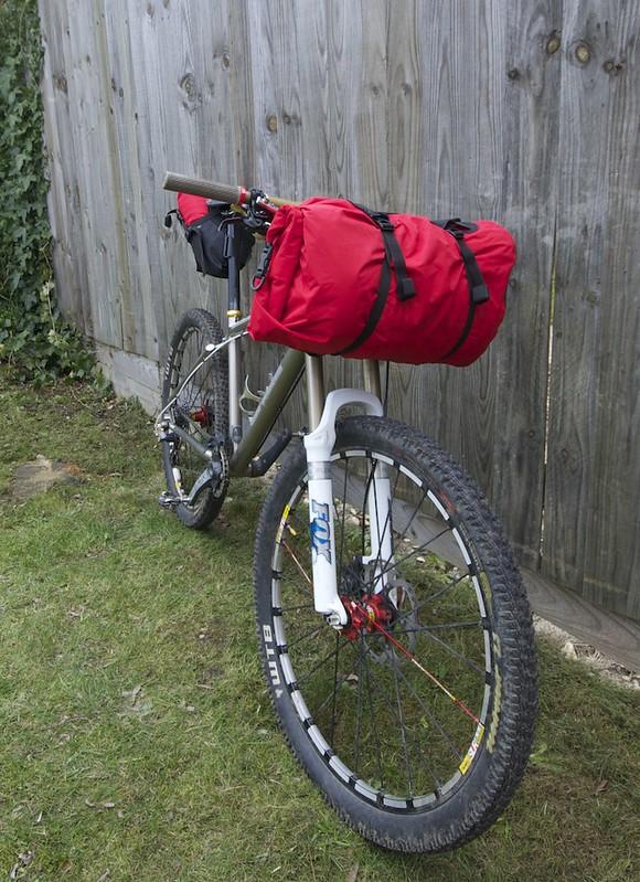 Bikepacking bag tests...