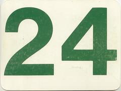 calendrier  24