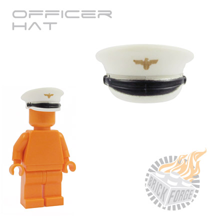 Officer Hat - White (Luftwaffe)