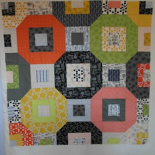 Orbit quilt top