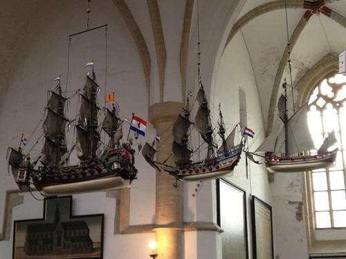 Haarlem - St Bavo ships