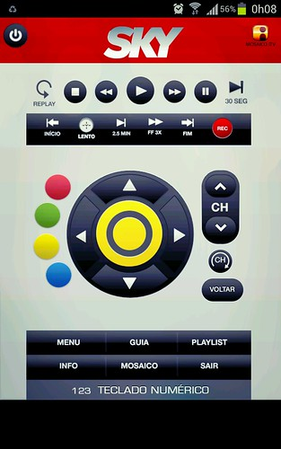 Controle Remoto SKYHDTV Android App by Rogsil