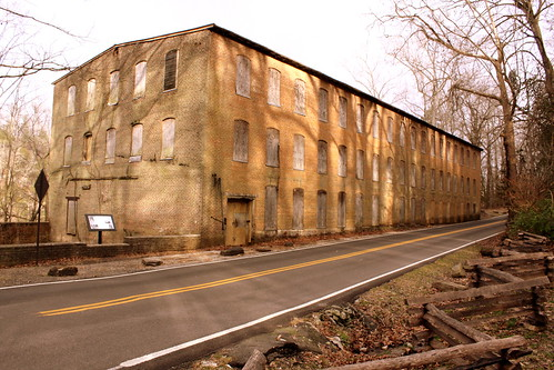 Falls City Cotton Mill - Rock Island, TN