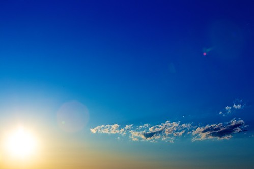 sunset cloud day crossprocess clear lensflare arlingtonva canonef70200mmf28lis