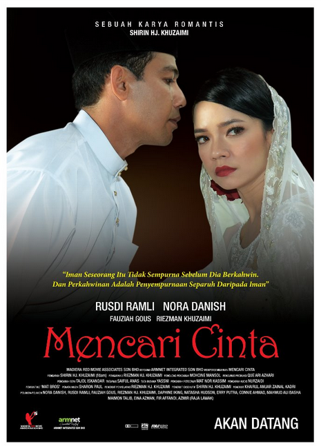 poster filem mencari cinta