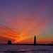 Grand Haven Sunset by Kevin Povenz