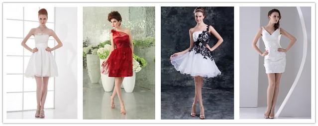 Robes de mariée courtes  8653898593_ff8820ec8a_z
