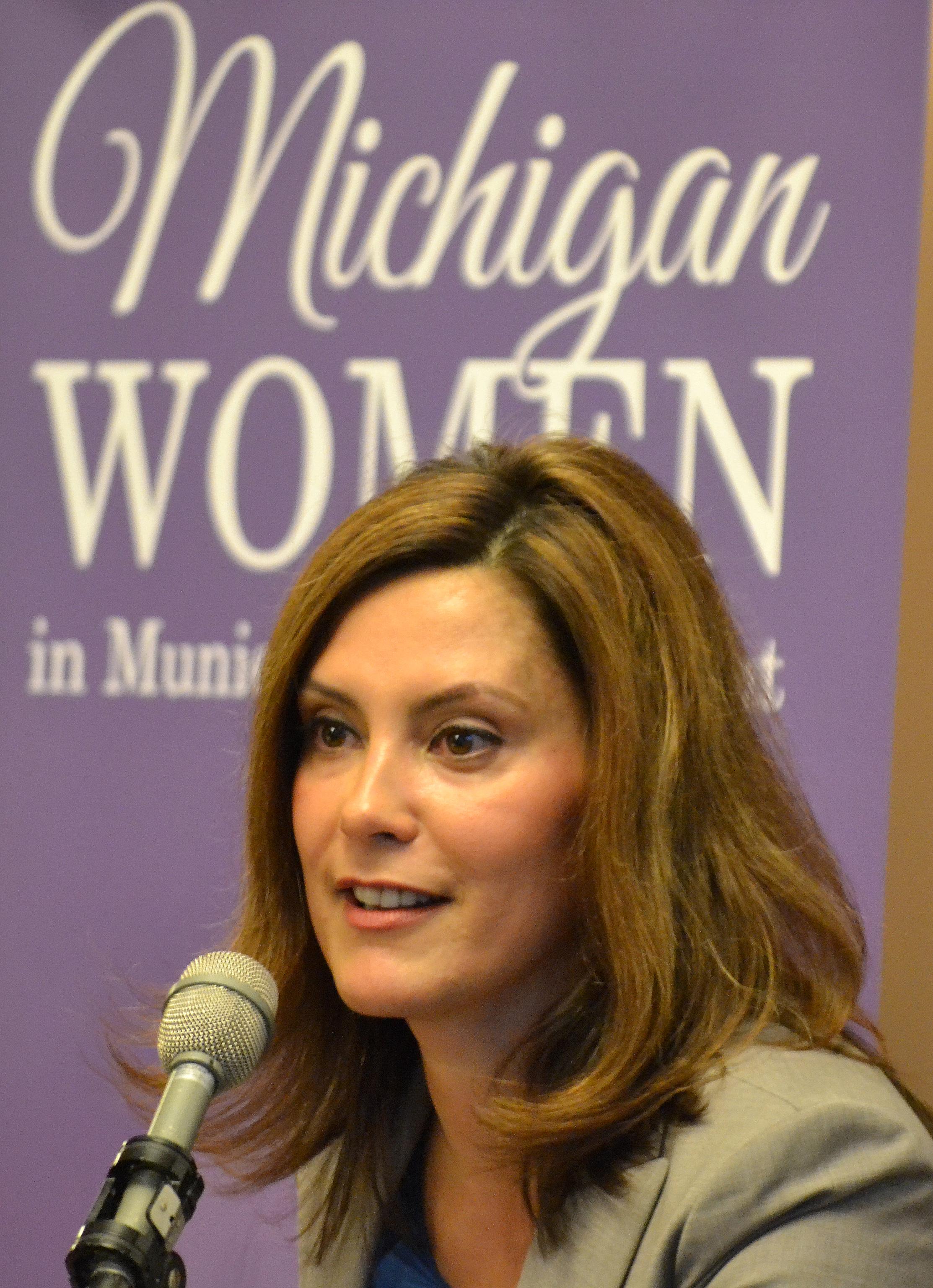 Michigan Senator Gretchen Whitmer Speaks at the 2013 ...