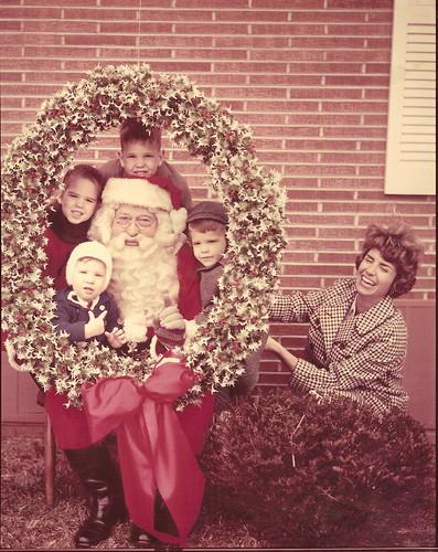 Koch kids, circa 1968