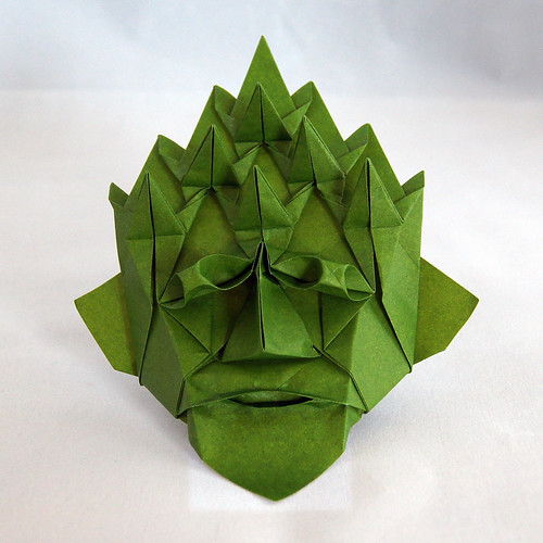 Origami Green Man (Nick Robinson)