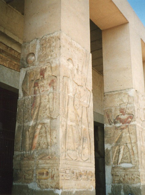 Header of Abydos, Egypt