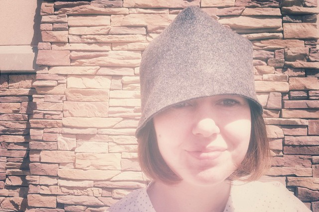 How to make a cloche hat with felt diy vintage hat  Isa