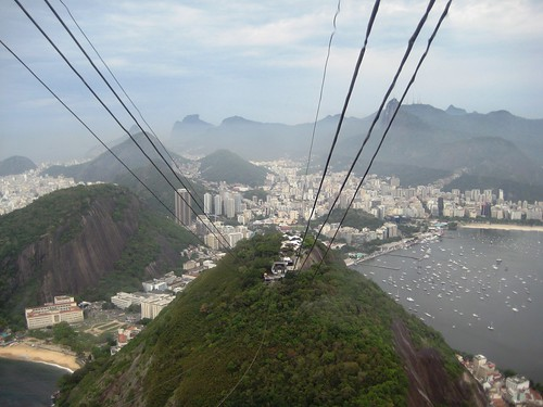 View of Rio de Janeiro from Sugarloaf Mountain, Brazil, Oct. 2012