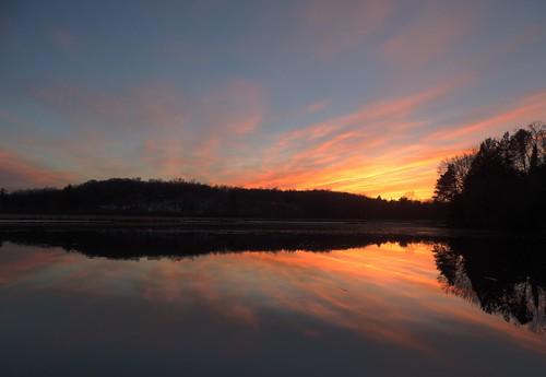 Tainter Lake Sunset