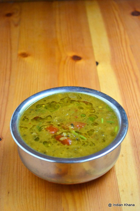 Hara Moong Dal Tadka Fry Recipe