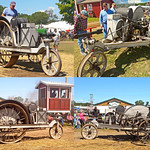 "1913 ""Little Bull"" Three-wheeled Bull Tractor (at the Buckley Old Engine Show) [BOES 5/9]"