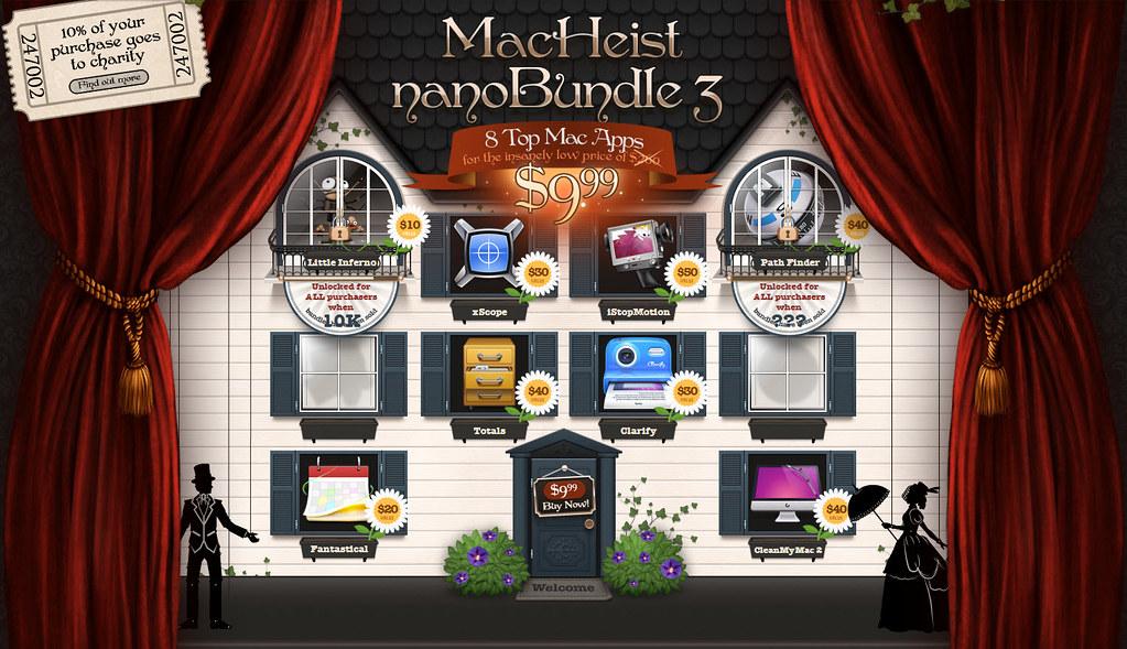 MacHeist nanoBundle 3 — 八個熱門 Mac 軟體特價只要 USD9.99 @3C 達人廖阿輝