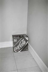 Carton of Coca-Cola cans
