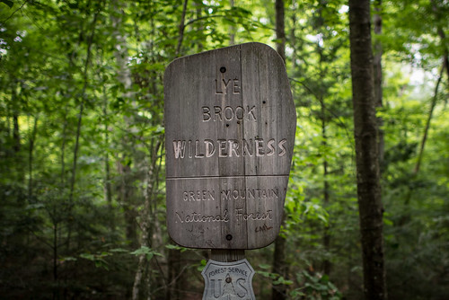 Lye Brook Wilderness Sign | by goingslowly