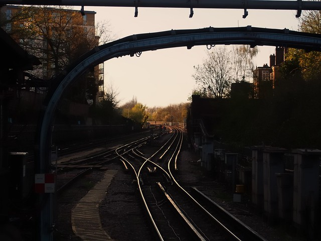 Colindale tube station, London NW9.